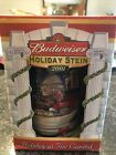 """2001 BUDWEISER HOLIDAY STEIN - """"HOLIDAY AT THE CAPITAL"""" - New In Box W/ COA"""
