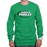 Philly Beer Drinking Football Athletic Sports Long Sleeve T Shirts Tees Tshirts
