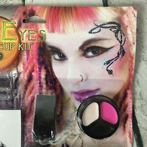 Broken Doll Goth Fairy Cleopatra Eye Lashes Lip Stick Tattoo Gems Face Makeup