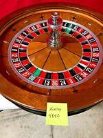 Roulette Wheel TCS JOHN HUXLEY 32 Inch (Used) #48400/00