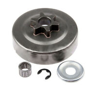 For Stihl MS170 180 Clutch Attachment Drum Sprocket Washer E-Clip Kit Durable