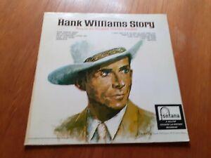 TILLMAN FRANKS SINGERS - HANK WILLIAMS STORY .. VINYL LP