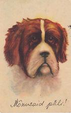 "DOG:  A Serious-looking dog"" Monusaid puli!'-AMAG"