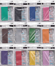 Ultra Pro Matte Small Trading Card Sleeves Deck Protectors 60 Pack Yu-Gi-Oh Size