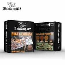 Abteilung 502 Rust & Exhaust - Pigments Set NEW Paint kit Paints