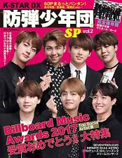 K-STAR DX BTS SPECIAL Vol.2 Japan Magazine  BTS/SEVENTEEN/B1A4/INFINITE/GOT7/EXO