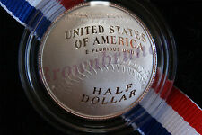 2014 S National Baseball Hall of Fame PROOF CLAD Curved Coin Half Dollar