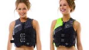 Jobe Neoprene Vest Ladies Buoyancy Aid Jetski Wakeboard Waterski Kayak