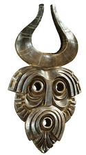 African Mask Wall Sculpture Reproduction Replica