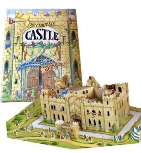Great Castle Mystery Pop Up Book, Three Demensional Adventure Rare! NEW!
