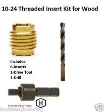 E-Z Lok 10-24 Threaded Insert Installation Kit for Wood E-Z Lok P/N EZ-400-3