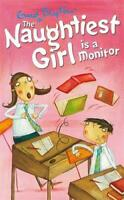 The Naughtiest Girl is a Monitor by Enid Blyton, Very Good Used Book (Paperback)