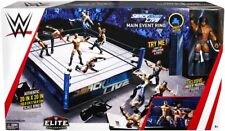 Smackdown Live WWE Elite Scale Wrestling Ring w/ Jinder Mahal Figure
