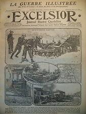 WW1 N° 1930 VERDUN TRI POSTAL POUR LE FRONT SALONIQUE JOURNAL EXCELSIOR 1916
