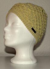 Neu Billabong Beanie Mütze Strickmütze Damen Mädchen Kinder gelb Polyacryl