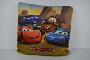 Cars Graphic Pillow - Lightning McQueen, Doc Hudson - Free Postage