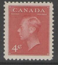 CANADA SG417 1949 4c CARMINE-LAKE MTD MINT