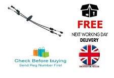 Gear Selector Link Linkage Cable Set Pair for Renault Master 1998 > 1.9 2.2 DCi