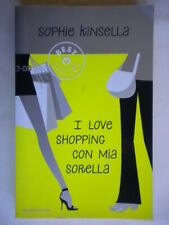 I love shopping con mia sorellakinsellaMondadori oscar londra rosa com nuovo