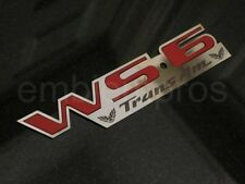 GM LICENSED, 93-02 Trans Am WS6 Emblem Badge, Mirror Stainless Steel PICK COLOR