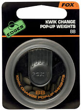 FOX EDGES KWIK CHANGE POP-UP LEAD WEIGHTS DISPENSER FISHING HOOKLINK CARP PIN