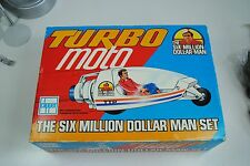 Six Million Dollar Man  TURBO MOTO  BOXED ,VERY NICE