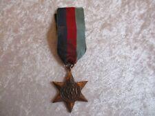 Vintage WWII 1939-1945 Star United Kingdom Medal