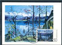Maximumkarte BRD Mi.-Nr. 986 Deutscher Impressionismus - b4294