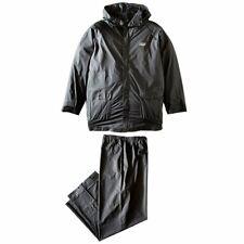 Coleman 2000014979 .20mm Black PVC Apparel Jacket and Pants Rain Suit - XX-Large