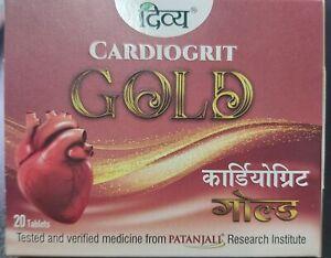Patanjali Divya Cardiogrit Gold 20  Tabs - Cardio Protection