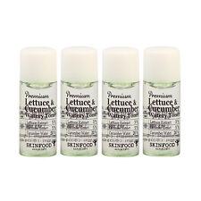 SKINFOOD Premium Lettuce & Cucumber Watery Toner Samples - 7ml x 4ea