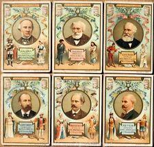 Chromo Liebig Sang. 406 ITA Compositori Celebri (piccoli medaglioni) ANNO 1894