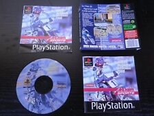 JEU Sony PLAYSTATION PS1 PS2 : JEREMY McGRATH SUPERCROSS 2000 (complet, suivi)
