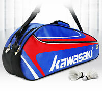 Kawasaki Racket Badminton Bag Waterproof Single Shoulder Squash Racquet Team Spo
