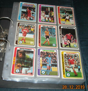 TOPPS 1979 COMPLETE SET-396/396 CARDS-EXCELLENT CONDITION