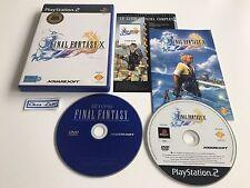 Final Fantasy X 10 - Sony PlayStation PS2 - FR - Avec Notice