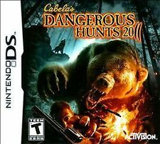 Cabela's Dangerous Hunts 2011 (Nintendo DS, 2010) DS NEW