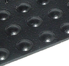 Self-Adhesive Rubber Feet Round Tiny Black Bumpers (96)