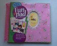 FUN PAD Creativity Book LOVE BUG Design CHILD STICKERS Scrapbook Crafts Borders