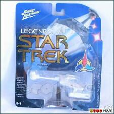 Johnny Lightning - Legends of Star Trek rare WHITE Klingon D7 Battlecruiser
