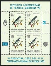 Argentine Argentina Oiseaux Birds Vogel Sport Fifa Cup Football Soccer ** 1978