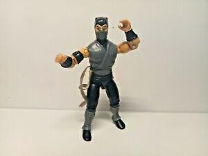 GI Joe Mortal Kombat Smoke Figure Vintage Hasbro 1991