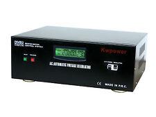STABILIZZATORE DI TENSIONE 5000VA LCD CORRENTE 20A INGRESSO DA 160V-250V RETE