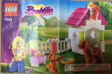 Lego Belville 7583 Playful Puppy, 100% Complete.