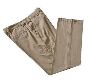 Dockers, Dark Khaki Relaxed Fit Casual Straight Leg Pants, size 36 x 34