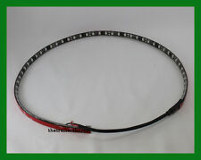 """Maxxima 36 LED Red Strip Light 24"""" Long Self Adhesive SMD5050"""