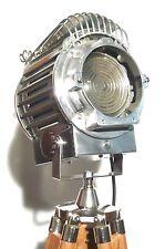 VINTAGE anni 1930 Chicago film Spot Light Lampada industriale Art Deco Teatro americano