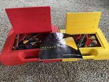 Knex - Mixed Set Bulk Lot Pieces w/ 2 Hard Cases And Instructions
