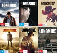Longmire Season 1 2 3 4 5 6 LONGMIRE Complete Seasons 1-6 : NEW DVD