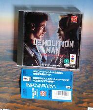 DEMOLITION MAN Item ref/154 3do Real Panasonic 3DO Import JAPAN CIB